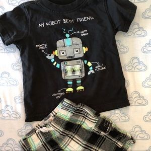 Kids Headquarters Matching Sets - My Robot Best Friend Outfit